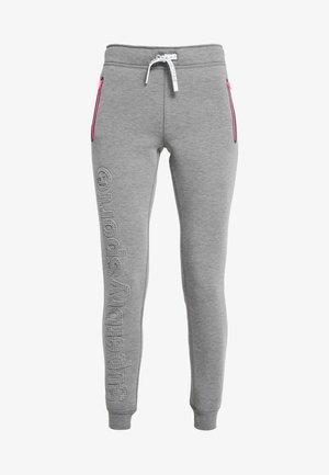 COMBAT - Pantalon de survêtement - dark marl