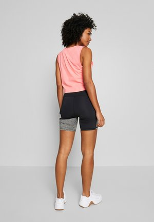 TRAINING GRAPHIC SHORTS - Tights - grey marl