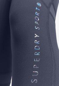 Superdry - STUDIO LEGGINGS - Legging - greystone - 4