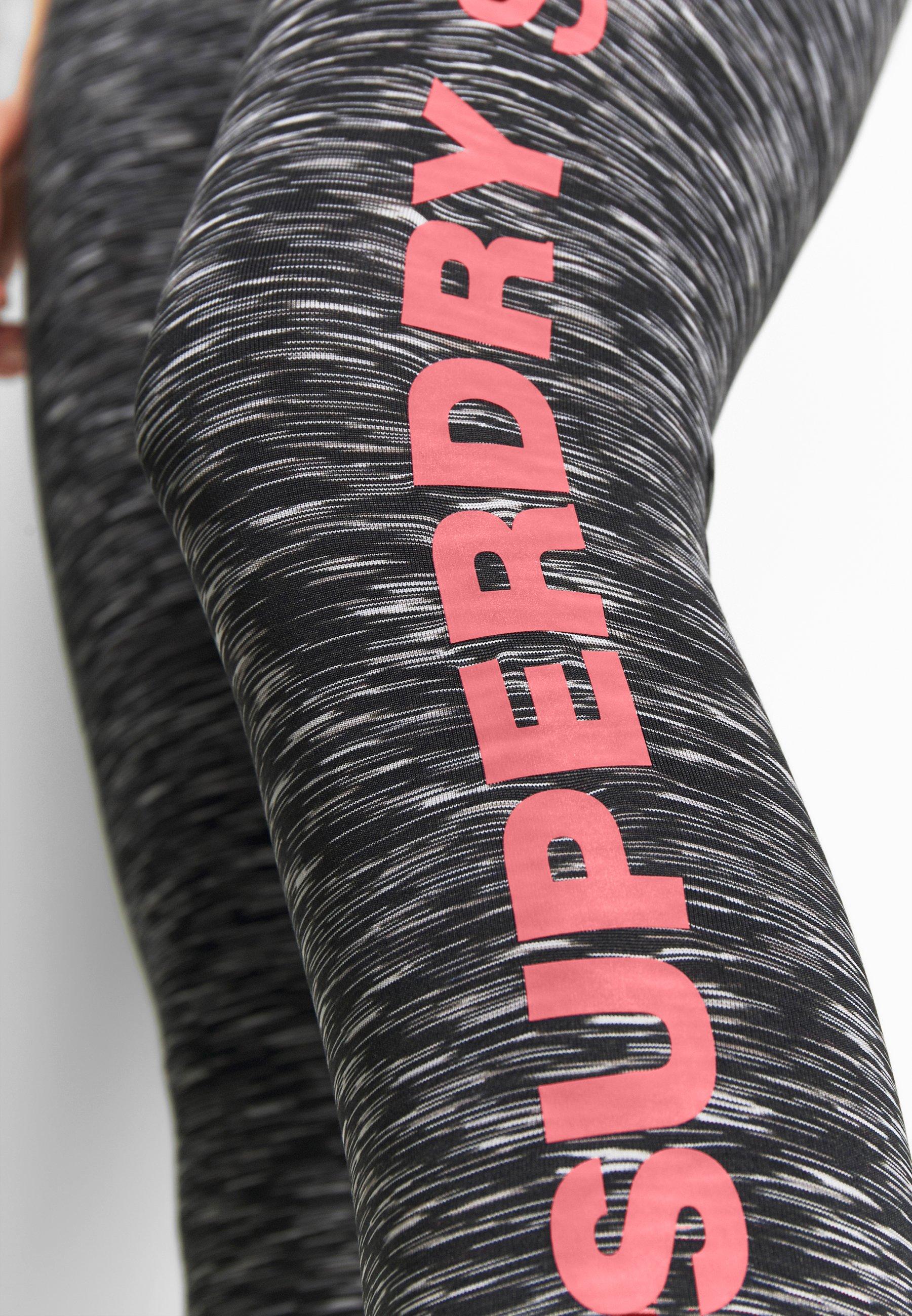 Superdry Training Essential Capri - Tights Stormy Grey