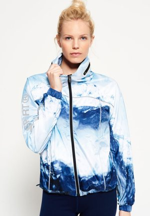 GYM  - Sports jacket - blue ice mountain