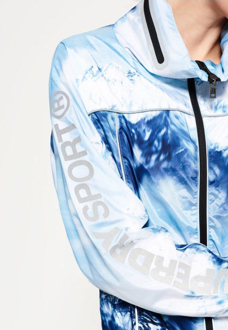 GYM Veste de running blue ice mountain