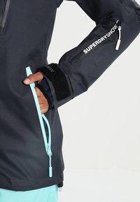 Superdry - Snowboardjas - scratch navy/fluro mint - 6