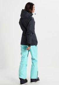 Superdry - Snowboardjas - scratch navy/fluro mint - 2