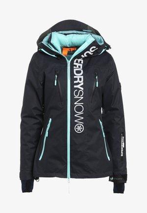 Snowboardjacka - scratch navy/fluro mint