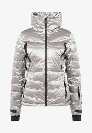 CHEVRON FUNNEL PUFFER - Skijakke - silver shimmer