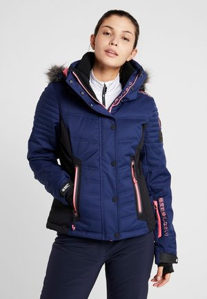 LUXE SNOW PUFFER - Giacca da sci - acid pink