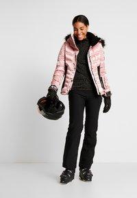 Superdry - LUXE SNOW PUFFER - Skidjacka - ice pink metallic - 1