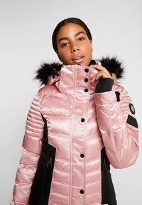 Superdry - LUXE SNOW PUFFER - Skidjacka - ice pink metallic - 5