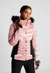 Superdry - LUXE SNOW PUFFER - Ski jas - ice pink metallic - 0