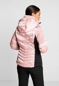 Superdry - LUXE SNOW PUFFER - Skidjacka - ice pink metallic - 3