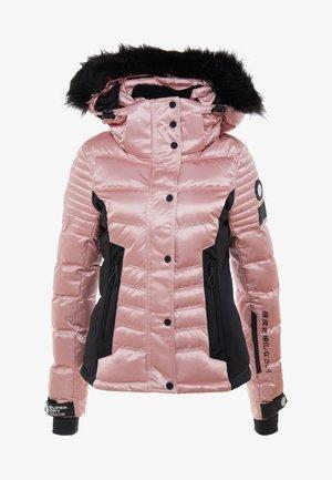 LUXE SNOW PUFFER - Skidjacka - ice pink metallic