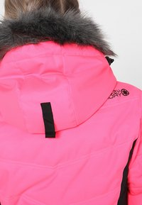 Superdry - LUXE SNOW PUFFER - Veste de ski - luminous pink sheen - 9