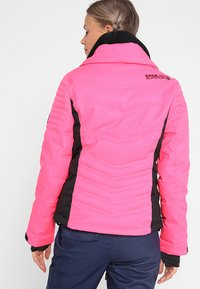 Superdry - LUXE SNOW PUFFER - Veste de ski - luminous pink sheen - 3