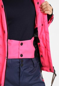 Superdry - LUXE SNOW PUFFER - Veste de ski - luminous pink sheen - 6