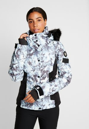 LUXE SNOW PUFFER - Giacca da sci - frosted blue ice