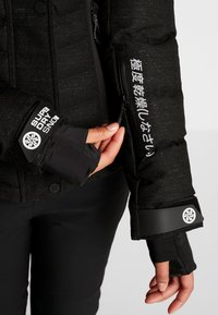 Superdry - LUXE SNOW PUFFER - Skidjacka - onyx black frost - 10