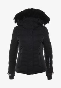 Superdry - LUXE SNOW PUFFER - Skidjacka - onyx black frost - 9