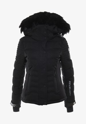 LUXE SNOW PUFFER - Skidjacka - onyx black frost