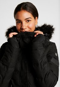 Superdry - LUXE SNOW PUFFER - Skidjacka - onyx black frost - 5