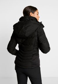 Superdry - LUXE SNOW PUFFER - Skidjacka - onyx black frost - 3