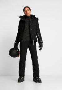 Superdry - LUXE SNOW PUFFER - Skidjacka - onyx black frost - 1