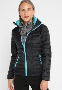 Superdry - MULTI JACKET - Kurtka narciarska - wax black - 3