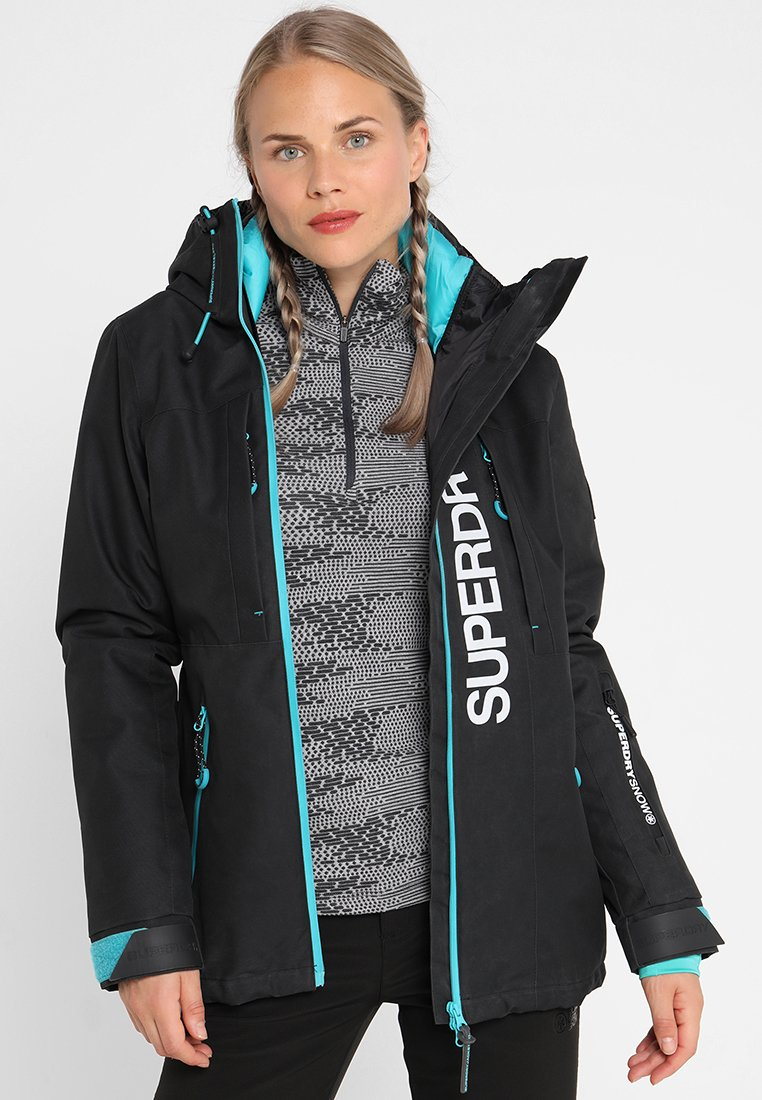 Superdry - MULTI JACKET - Kurtka narciarska - wax black