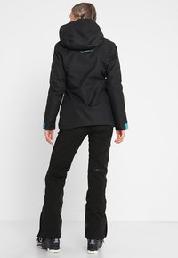 Superdry - MULTI JACKET - Kurtka narciarska - wax black - 2