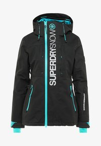 Superdry - MULTI JACKET - Kurtka narciarska - wax black - 6