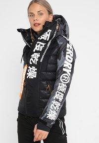 Superdry - JAPAN EDITION SNOW JACKET - Kurtka narciarska - black - 0