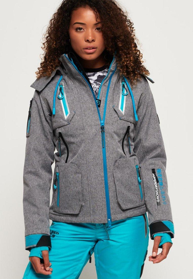 Superdry - ULTIMATE SNOW ACTION - Ski jacket - grey