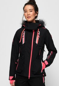 Superdry - ULTIMATE SNOW ACTION - Kurtka narciarska - black - 0