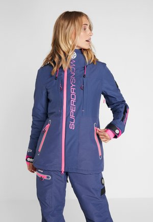 SLALOM SLICE SKI JACKET 2-IN-1 - Skidjacka - vortex navy