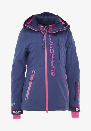 SLALOM SLICE SKI JACKET 2-IN-1 - Skijacke - vortex navy