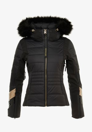 SKI FIT JACKET - Ski jacket - flat black