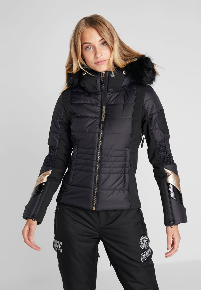 Superdry - SKI FIT JACKET - Ski jas - flat black