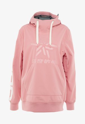 SNOW TECH HOOD - Softshelljacke - sherbet