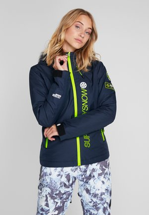 SKI RUN JACKET - Snowboardjacka - vortex navy