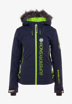 SKI RUN JACKET - Giacca da snowboard - vortex navy