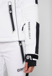 Superdry - SKI CARVE JACKET - Ski jas - arctic white - 8