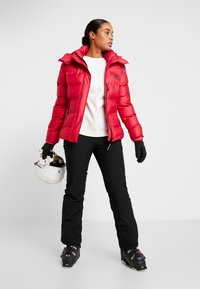 Superdry - KOANDA PUFFER JACKET - Skijakker - raspberry red - 1