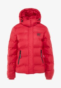 Superdry - KOANDA PUFFER JACKET - Skijakker - raspberry red - 7