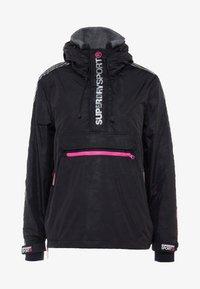 Superdry - SPORT CAGOULE - Trainingsvest - black/flu pink - 6