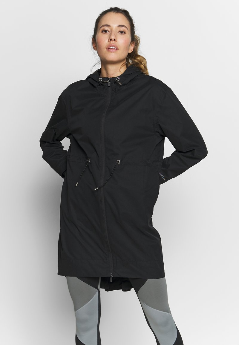 Superdry - STUDIO LONG  - Parka - black