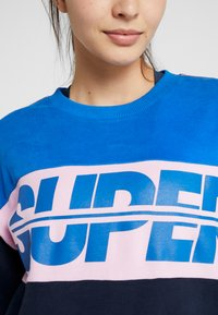 Superdry - SPORT BREAKERS CREW - Felpa - dark navy - 7