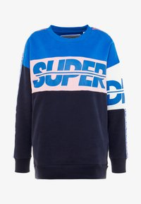 Superdry - SPORT BREAKERS CREW - Felpa - dark navy - 6