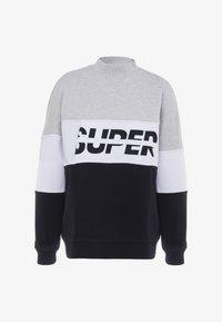 Superdry - SPORT PUSHER CREW - Sweatshirt - black - 4