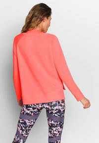 Superdry - STUDIO CREW - Sweatshirt - phosphorescent coral - 2