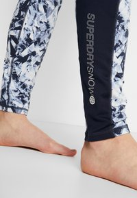 Superdry - CARBON BASELAYER - Onderbroek - frosted blue ice/vortex navy - 3